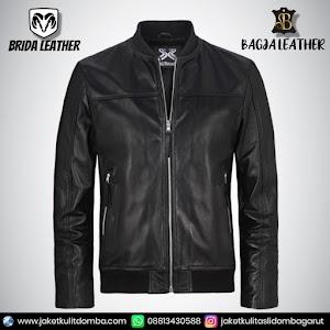 Jual Jaket Kulit Asli Garut Pria Domba Original Brida Leather B16   WA 08813430588