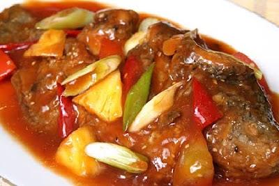 Resep Ikan Kakap Tomato Saus