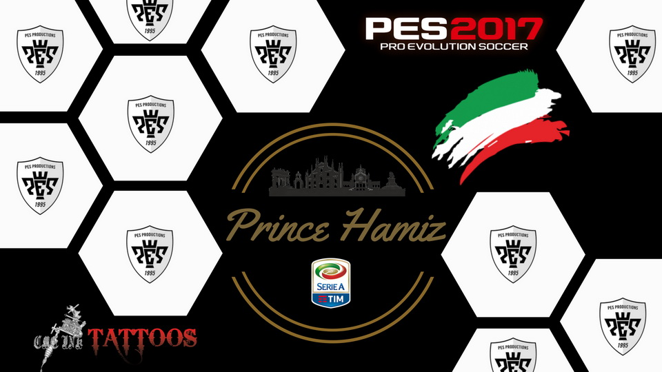 PES 2017 Mini Tattoo pack by Prince Hamiz