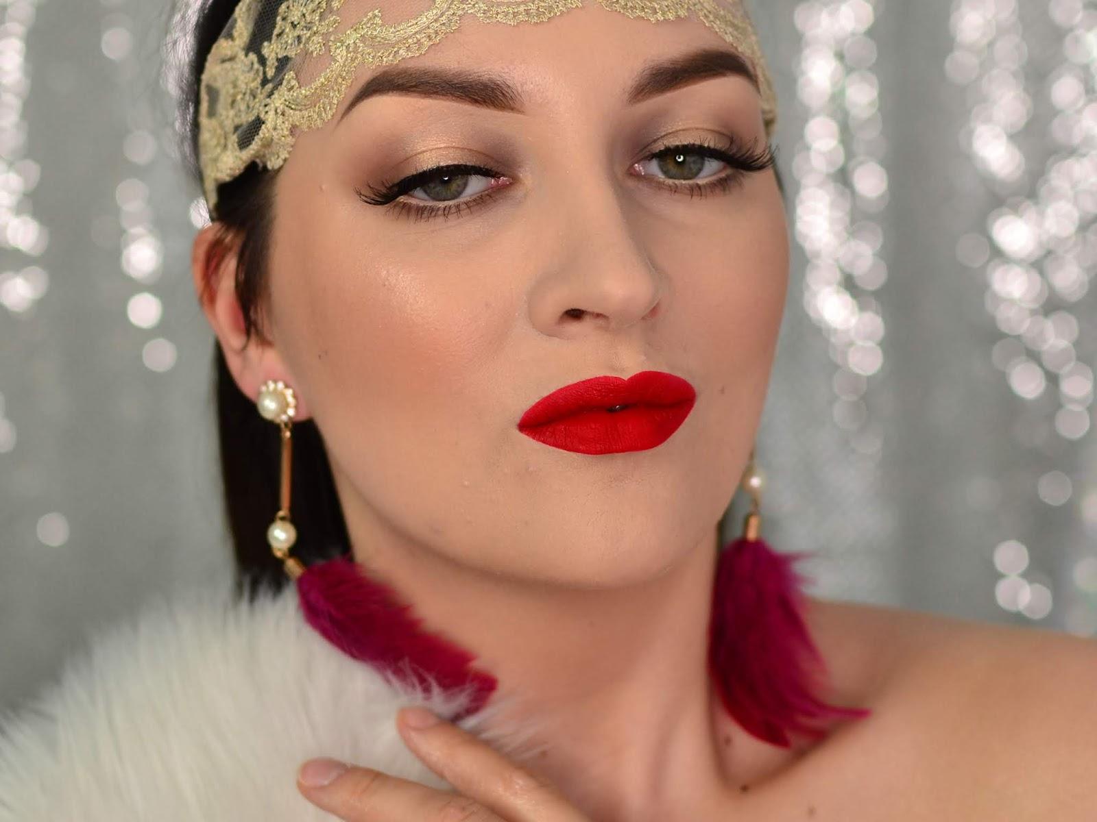 makijaż w stylu lat 20