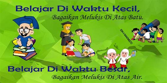 Gambar Contoh slogan pendidikan