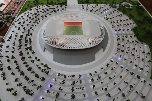В Уфе появится футбольная арена