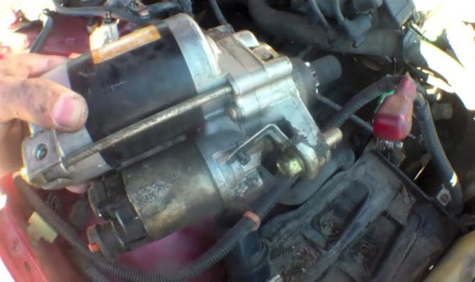 How to Replace the Starter on a 1992 Honda Accord