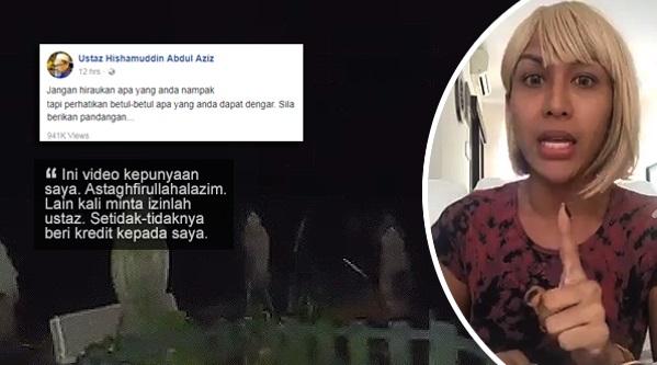 Viral Video 'Jeritan Azab Seksa Kubur', Namun Pemilik Video Kesal Ustaz Tak Kreditkan Kepadanya