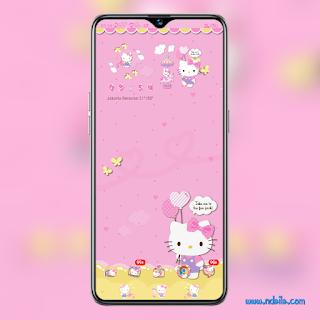 Tema Hello Kitty OPPO ColorOs 6