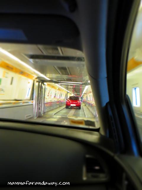 viaggio in automobile inghilterra