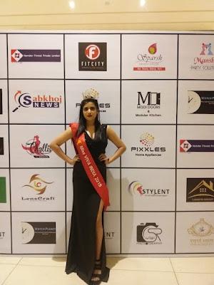anisha jain miss viva india 2019