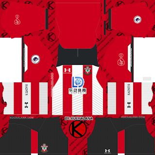 Southampton FC 2019/2020 Kit - Dream League Soccer Kits