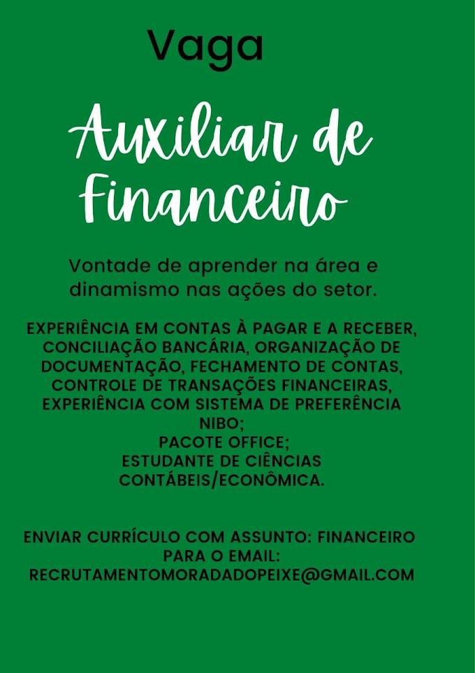 AUXILIAR FINANCEIRO