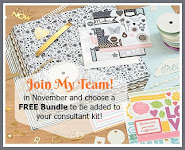 Join My Team in November