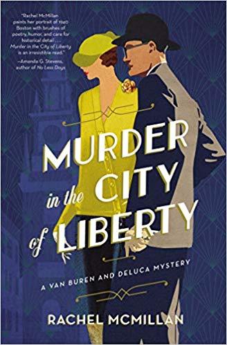 Murder in the City by Rachel McMillan - TLC Book Tour