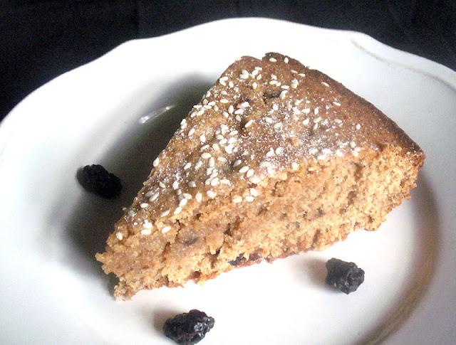 Sesame Tahini Cake