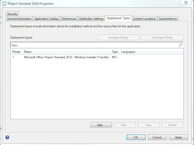 How to correctly setup Project, Visio and Office as an application in SCCM 2012 4