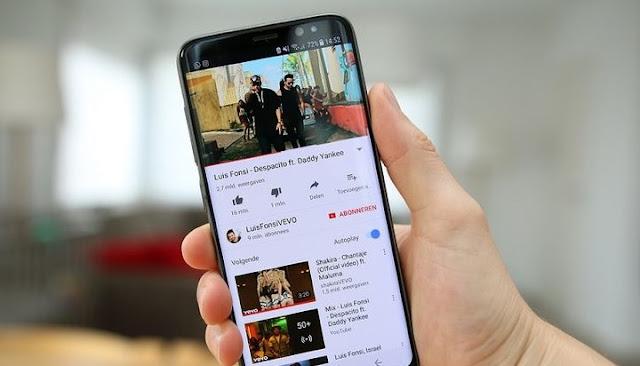 Cara Menghilangkan Tombol Virtual di Aplikasi YouTube Yang Tidak Mau Hilang Saat Memutar Video