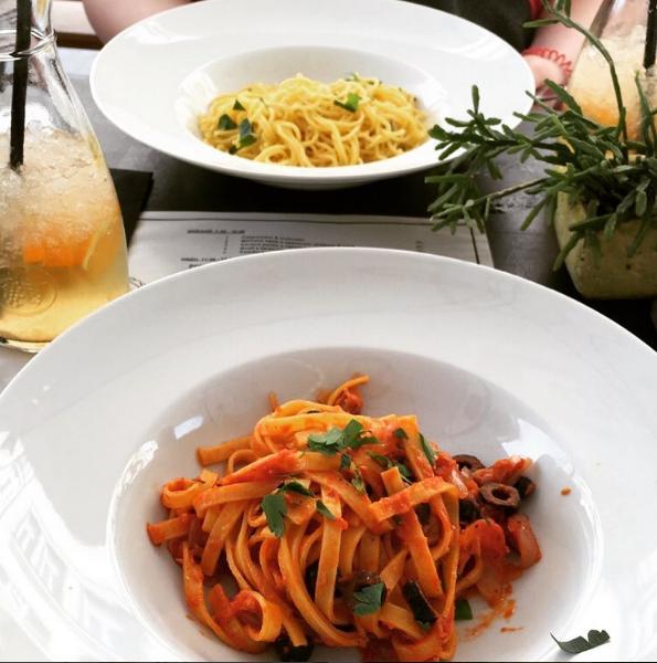 Gambar dan Foto Pasta Aglio Olio khas Itali