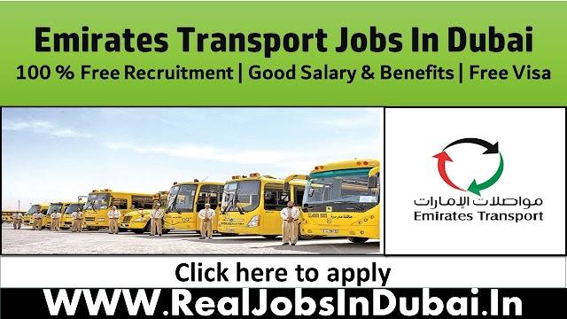 Emirates Transport Careers Job Vacancies -2021