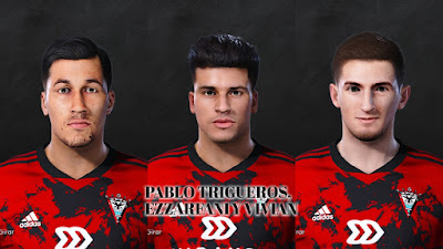 PES 2021 Facepack La Liga SmartBank Vol 12 by Dani