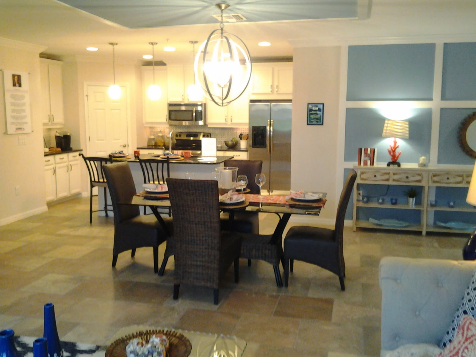 Bay Street DR Horton model home