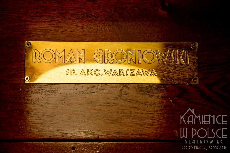 Warszawa. Przedwojenna winda. Roman Groniowski.