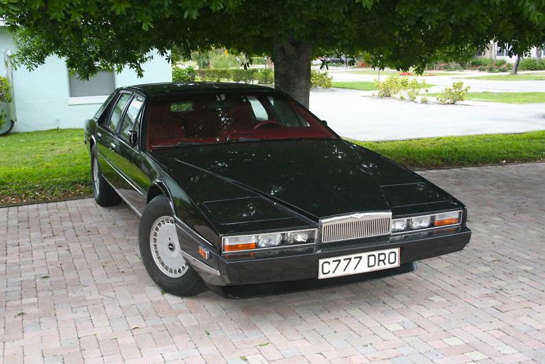 Vongestern Blog Gebrauchtwagen Des Tages Aston Martin Lagonda S2 1985