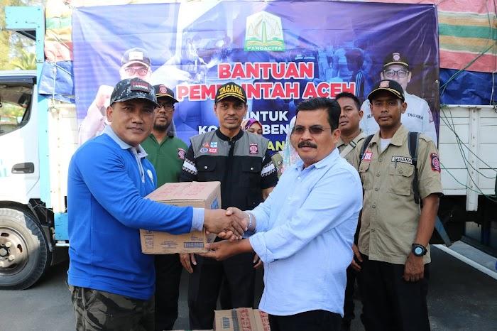 Siaga Bencana, Pemerintah Aceh Kirim Bantuan Rp350 Juta Lebih