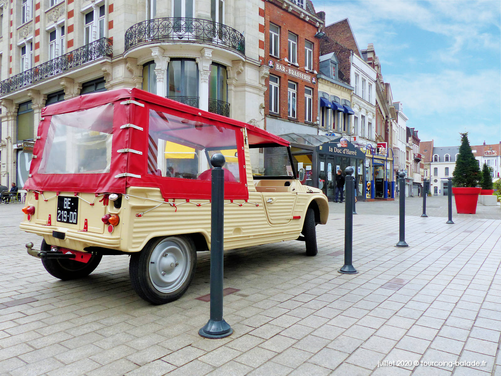 Citroën Mehari, Grand Place Tourcoing 2020