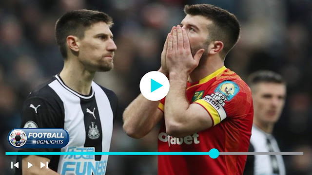 Newcastle United vs Norwich City – Highlights