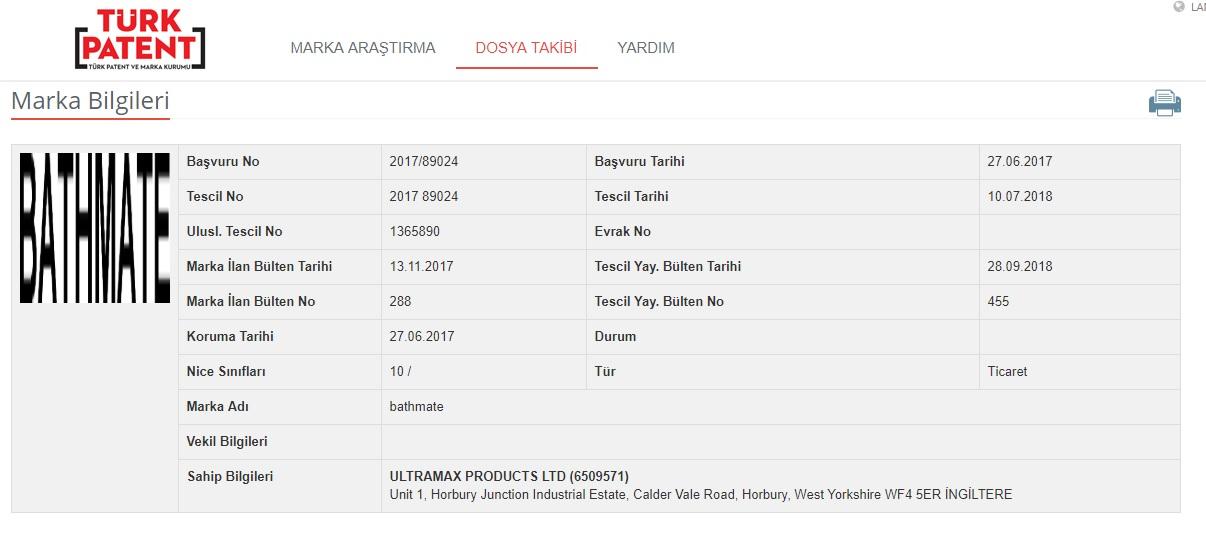 bathmate marka sahibi ingiliz firma ultramax products