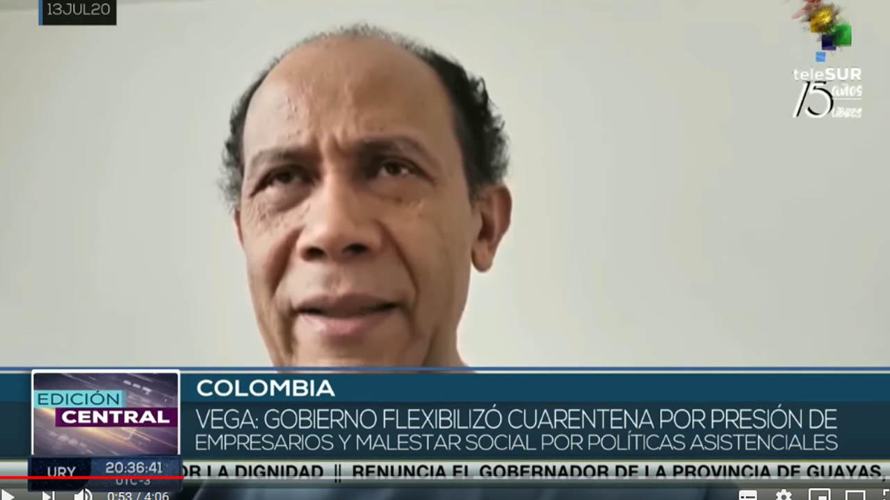 Colombia: reactivación económica incrementó contagios de COVID-19