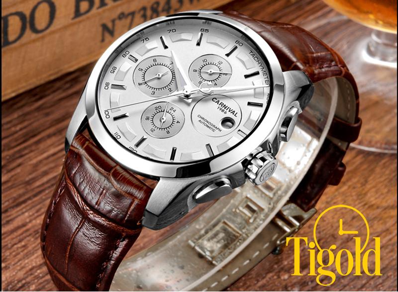 đồng hồ nam dây da giá rẻ