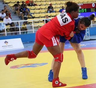 Sambo dominicano va a mundial en Korea del Sur