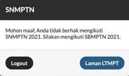 Cara Daftar SNMPTN 2021 Lengkap Dengan Gambar
