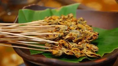 Resep Olahan Seafood: Sate Kerang