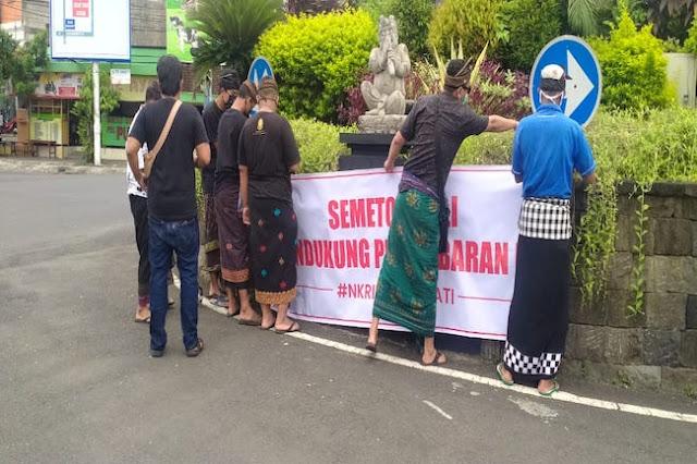 Semeton Bali Beri Dukungan Pembubaran FPI di Tabanan