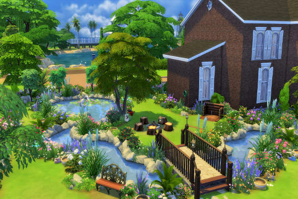 The sims 4 the sims human for Indoor gardening sims 4