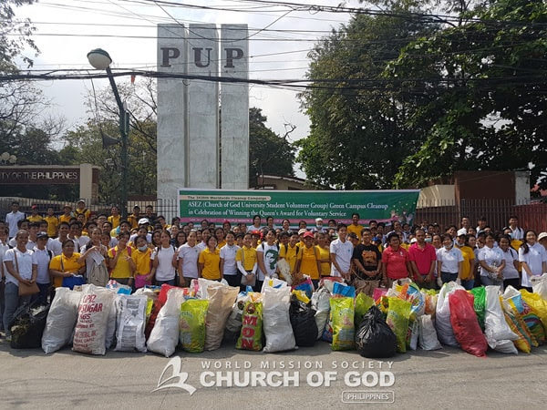 ASEZ Cleanup near PUP Manila