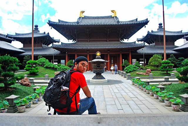 Marky Ramone Go Chi Lin Nunnery and Nan Lian Garden