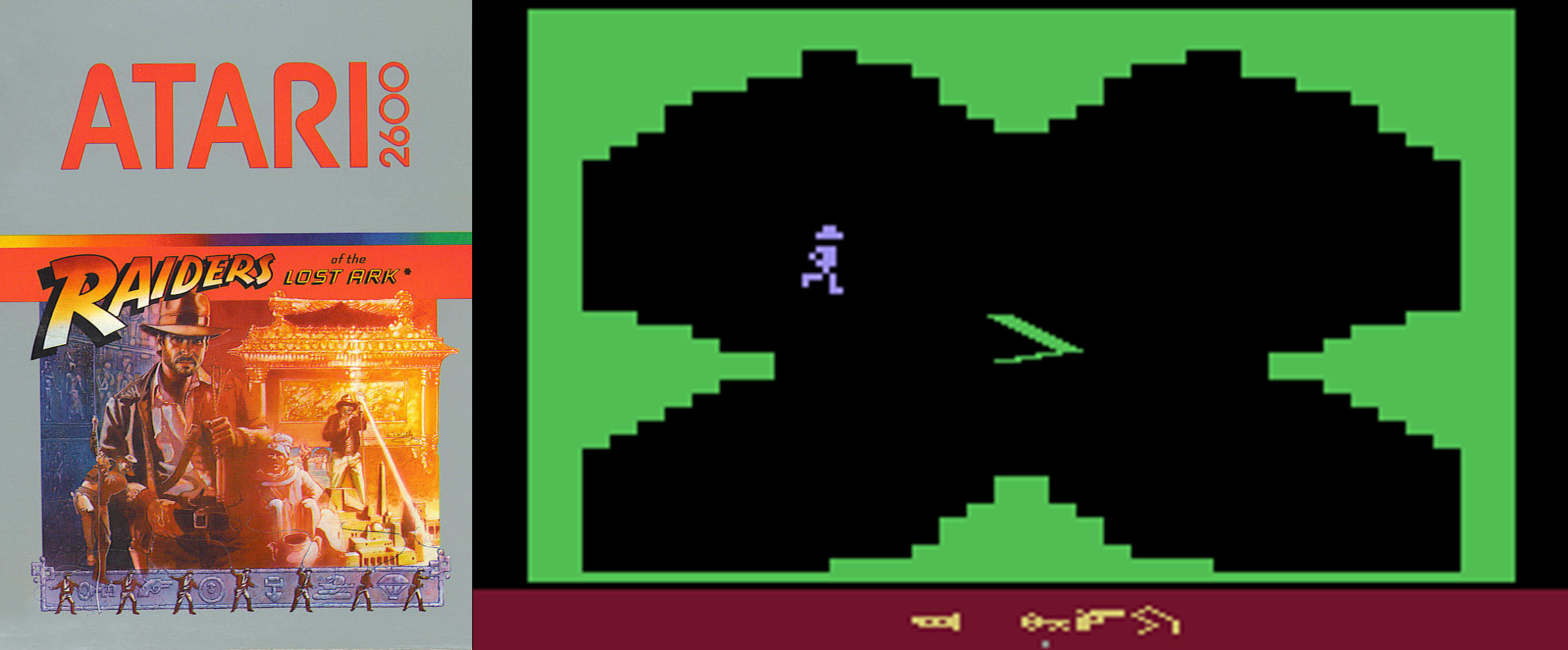 raiders of the lost ark atari 2600 1982