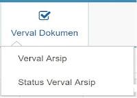 Terdiri dari Verval Arsip dan Status