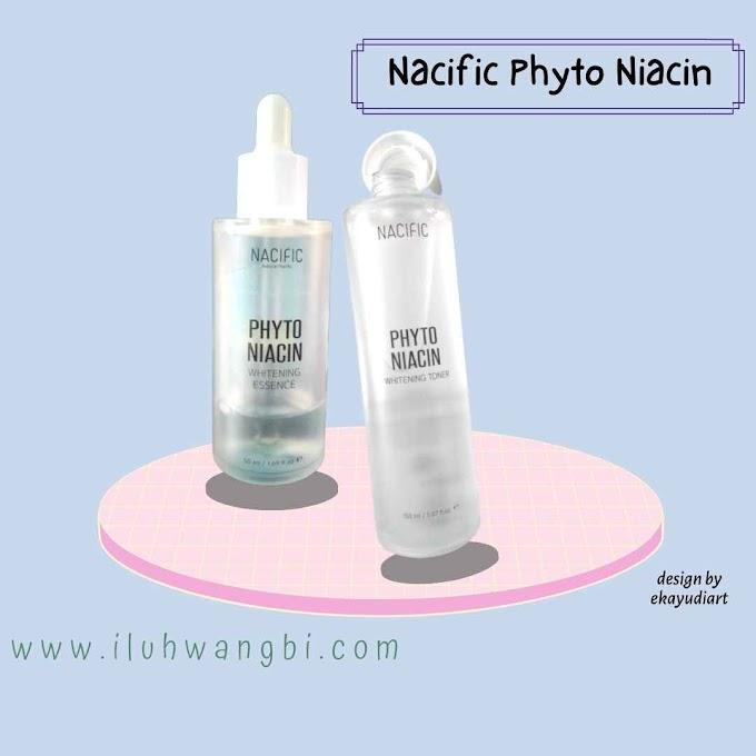 Review Nacific Phyto Niacin Toner & Essence Untuk Cerahkan Wajahmu