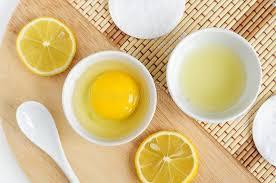 egg and lemon face mask