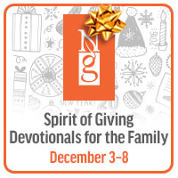 Enter to win a collection of family devotionals