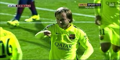 Copa Del Rey : Huesca 0 vs 4 Barcelona 4-12-2014