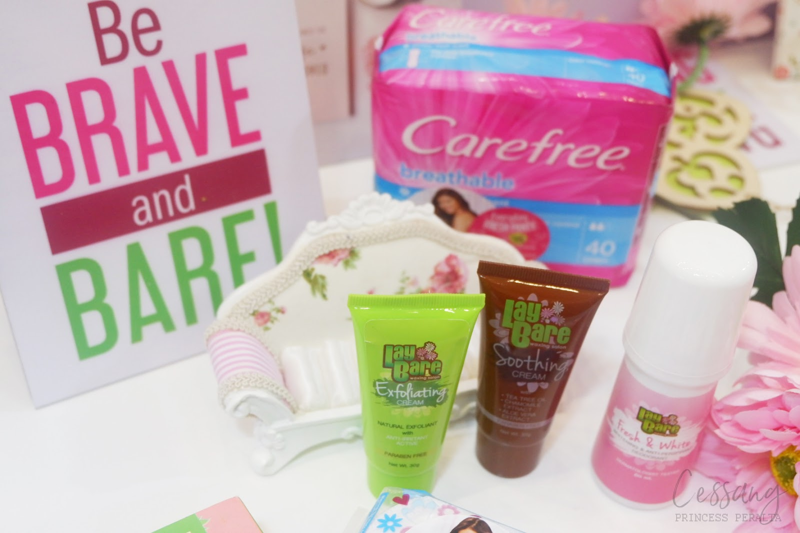 BARE IT ALL: INTIMATE BEAUTY SECRETS REVEALED WITH CAREFREE X LAY BARE