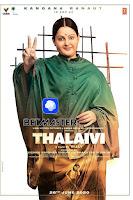 Thalaivii 2021 Full Movie Hindi 720p DVDScr New Print