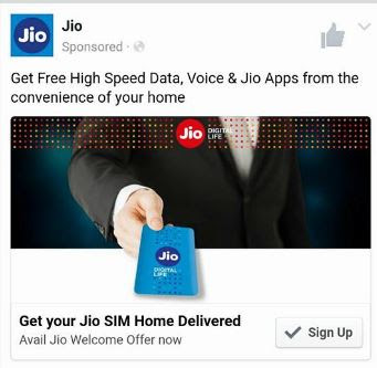 Reliance Jio SIM will be soon Delivered at your Home
