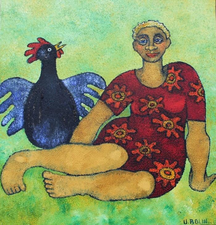 Картины, полные юмора и символизма. Ulla Bolin