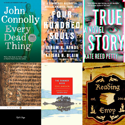 Cover images of books featured in this episode, listed below.