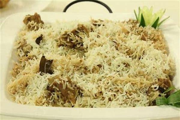 White Mutton Biryani – Delicious biryani without spice