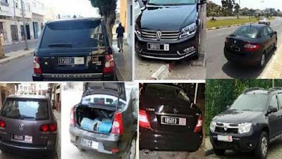وزارة الداخلية تراقب سيارات الدولة بكل ربوع المملكة المغربية